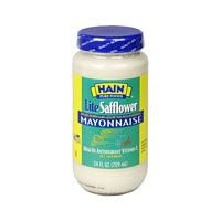 Hain Pure Foods Lite Safflower Mayonnaise, 24 Ounce -- 12 per case. by Hain