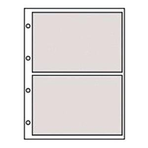 Genuine Refills for 2-up / 4-ring Clear Pocket Albums by ...