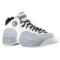 Jordan Jumpman Team 1 - Men's Basketball Shoes White/White-Wolf Grey-Black Size 12