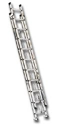Extension Ladder, Aluminum, 28 ft., IA