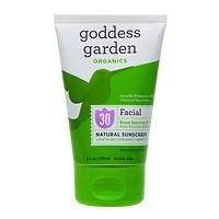 Goddess Garden Sunny Face Natural Sunscreen SPF 30, 3.4 oz
