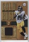 Le'Veon Bell #25/49 (Football Card) 2017 Panini Gold Standard - Gold Rush Relics (Relic Football)