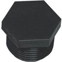 GREEN LEAF F 200 Hd, Mnpt, Polypropylene Hexagonal Pipe Plug, 2