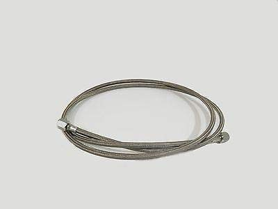 3 by 1//2 SAE FJIC PTFE Lined Braided SS304 Hose for Closed Loop Extractors