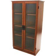 Heirloom Storage Cabinet with 4 Shelves, Cherry