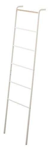 YAMAZAKI home Tower Leaning Ladder Rack White (Ladder White)