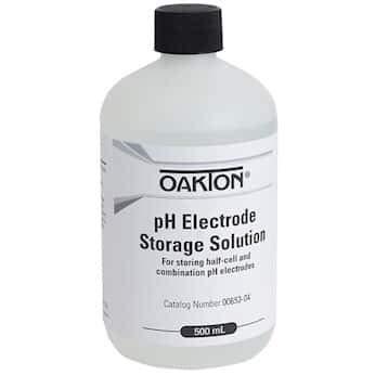 Oakton Electrode Storage Solution; 500 mL