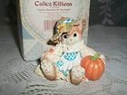 Calico Kitten Figurine #178594 YOU'RE THE BEST IN THE FIELD