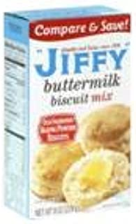 product image for Jiffy Buttermilk Biscuit Mix Buttermilk 8oz Box (Pack of 12)