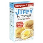Jiffy Buttermilk Biscuit Mix Buttermilk 8oz Box (Pack of 12)