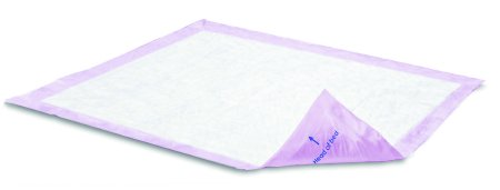 Underpad Attends Supersorb Breathables 30 X 36'' Disposable Polymer / Airlaid Core (#ASBM-3036, Sold Per Case)