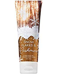 Bath and Body Works SNOWFLAKES and CASHMERE Ultra Shea Body Cream 8 Ounce (2018 Edition)