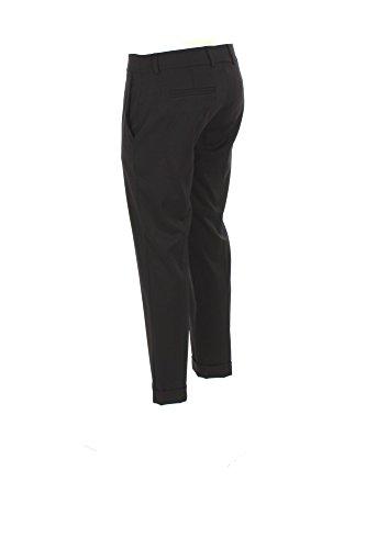 Pantalone Donna Hanita 42 Nero H.p040.1866 Autunno Inverno 2017/18