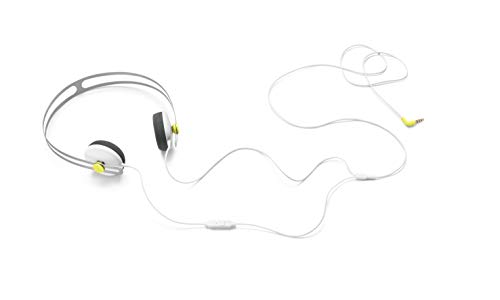 AIAIAI 10-90039 Pipe Special Edition DJ-Kopfhörer weiß/gelb Lernspielzeug