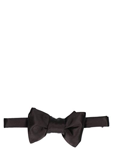 Luxury Fashion | Tom Ford Mens TFG954CHA Black Bow Tie | Season Permanent