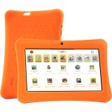 "iDeaUSA's iDeaPLAY - Children's 7"" Tablet w/ Android 4.2 Jelly Bean & Protective Silicone Case"