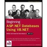 Beginning ASPNet Database Using VBNet (02) by Kauffman, John - Ferracchiati, Fabio Claudio - Matsik, Brian - [Paperback (2002)]