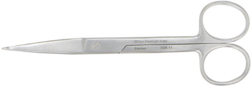 Integra Miltex 5-560 Stainless Steel Knowles Bandage Scissor, Straight, 140mm Length (Miltex Bandages)