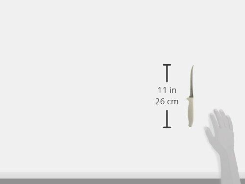 """Dexter Russel SYNCHKG011671 Scalloped Utility Slicer, 5.5"""", White"""