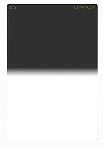 Lee Filters Neutral Density 0.9 Graduated Filter, Medium Edge, 100x150mm - Resin by Lee Filters