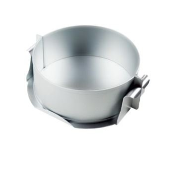 Alan Silverwood Silver Anodised 8'' Round Cheese Cake/ Pie Mould Pan by Alan Silverwood