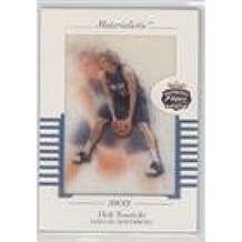 Dirk Nowitzki (Basketball Card) 2001-02 Fleer Focus Jersey Edition - Materialistic Away #M-DN