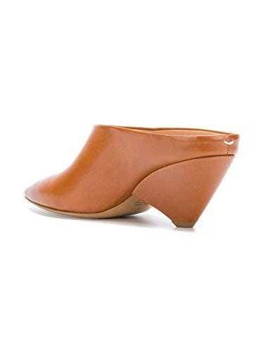 Margiela Maison Tacón Cuero S58wp0134sy1108cognac Zapatos Mujer De Marrón vRRUWxz