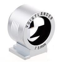 Voigtlander Viewfinder f/ 75mm Silver ()