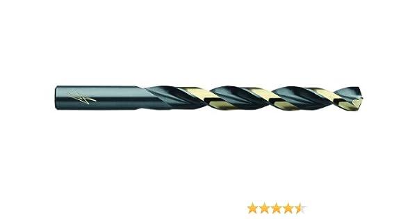 12-Pack AJ Hanson Black and Bronze Oxide Coated 012603 No 3 Diameter T2HD High Speed Steel Drill Triumph Twist Drill Co Tools /& Home Improvement