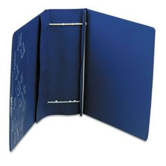 ** Varicap6 Expandable 1 To 6 Post Binder, 11 x 8-1/2, Blue **