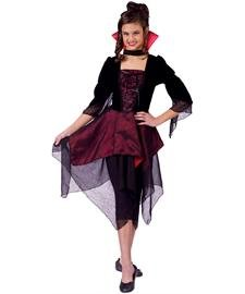 Female Dracula Costumes (Lady Dracula Child Costume, Small (4-6))