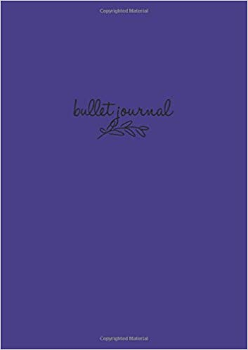Bullet Journal: Violett Notizbuch A5 Dotted: Bullet Journal ...