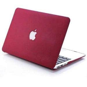 Wine Red Color Case Cover For Macbook Air 13 And 13.3 Inch For Dust Proof Scratch Proof Water Resest