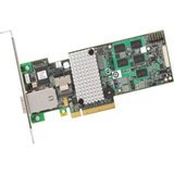 Intel RS2MB044 8-port SAS RAID Controller * Serial Attached SCSI (SAS) Serial ATA/600 - PCI Express 2.0 x8 - Plug-in Card - RAID Supported - 0 1 5 6 10 50 60 RAID Level - 512 MB