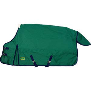 Upland by Dover Saddlery Turnout Sheet for Horses, Size 78, Hunter/Navy by Upland