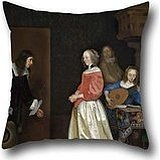 Oil Painting Gerard Ter Borch The Younger