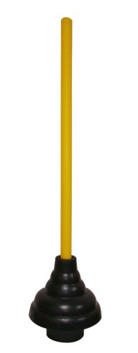 Cobra Products 306 6-Inch Heavy Duty Force Cup Plunger with Painted Wood (Handle Plunger)