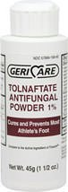 TOLNAFTATE Anti-Fungal Powder 1% USP 1.5OZ - RUGBY