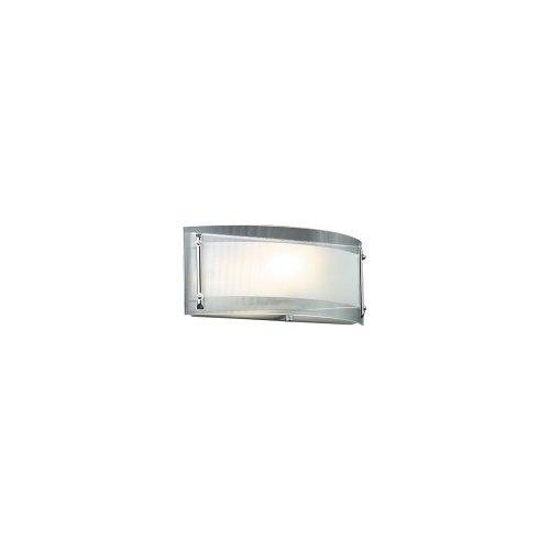 Plc Polished Sconce - PLC Lighting 7812 PC 1 Light Sconce, Millennium Collection, Polished Chrome Finish by PLC Lighting