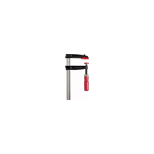 Bessey TGRC25B8 Screw Clamp Tgrc 9.84In/3.15In of Cast-IRON,, Black/Red/Silver