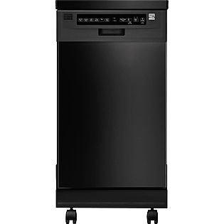 Kenmore 18'' Portable Dishwasher - Black Energy Star® 14659