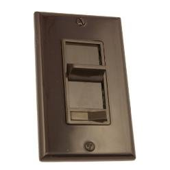 Leviton Brown 3-way Slide Dimmer Switch 600w ()