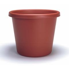 Akro-mils Classic Flower Pot Clay 16 Inch Pack Of 12 - 12017CL by Akro-Mils