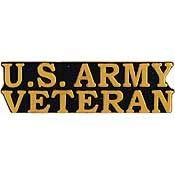 (US Army, United States Army SCR Veteran - Premium Quality, Expertly Designed, PIN - 1.5