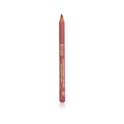 Milani Color Statement Lipliner - Nude (0.04 Ounce) Cruelty-Free Lip Pencil to Define, Shape & Fill Lips (Pencil Beauty Gloss Makeup Lip)