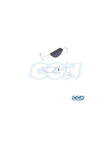 Motodak Clavette allumage//pignon Moto Compatible avec derbi Senda euro2//euro3 2.5mmx3.7mm