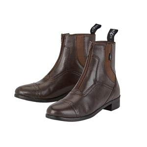 Saxon Ladies Syntovia Zip Paddock Boot 8 Brown