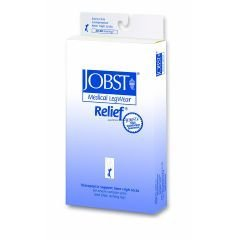 Jobst Relief Therapeutic Knee High Support Stockings, 30 - 40 mmHg - Medium - Closed Toe by Jobst