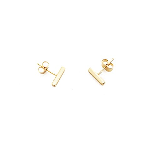 honeycat-24k-gold-plated-midi-bar-stud-earrings-made-well-minimalist-delicate-jewelry