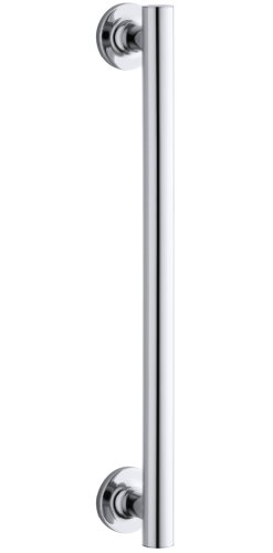 KOHLER K-705767-SHP Purist 14-Inch Pivot Handle, Bright Polished Silver (Brass Pivot Polished)